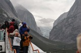 The Hanging Glacier and Passengers