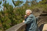 Mom at the Lone Cypress