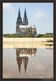 Reflection of Cologne Cathedral