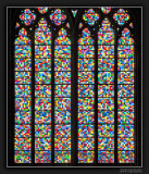 Cologne Cathedral Window Pane (Detail)