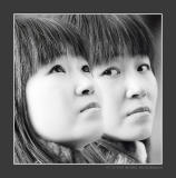 Two Expressions (Street Portrait)