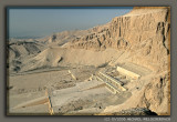 Deir el Bahri with mortuary temples of Hatshepsut, Thutmose III and Mentuhotep II