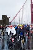 Golden Gate Bridge in Rain