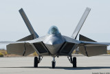 F-22 Taxi to Takeoff