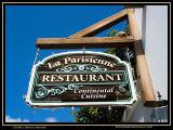 La Parisienne Sign