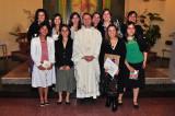 Entrega de Mantos y Alianzas de la Juventud Femenina. Dic.2008