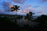 Sunrise in Hilo