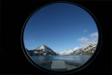 Nearing Stehekin - Through the Boat's Porthole