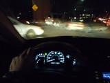 2007 Honda Accordo Dash At Night