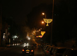 Menorahs Line The Streets