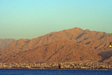 Aqaba, Jordan as seen from Eilat