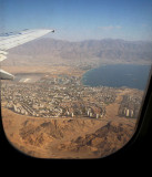 Eilat seen by air