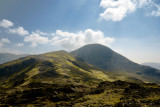Green Gable looking green with Great Gable behind