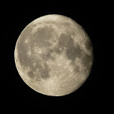 slightly better moon than usual attempts, handheld, don't know why I can never be bothered setting up tripod at 3am