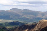 Skiddaw from High Spy with Catbells looking a bit small centre rightish