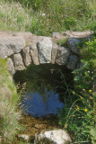 old bridge at Bosigran water mill site