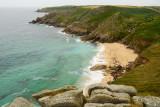 St Levan beach & towards Gwenapp head