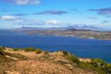 Rum and Eigg beyond Arisaig peninsula