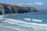 Porthtowan beach on a calm day