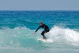 gentler surfing at Chapel Porth