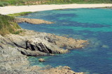 Towan beach, sunshade day