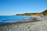 Peppercombe beach