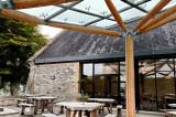 Buckfast Abbey - granary tearoom