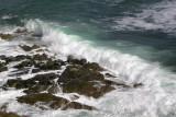 Waves breaking on outliers