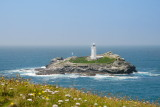 Godrevy Island and lighthouse