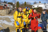 Ice Rescue Training / Lake Forest / Bridgeport / Connecticut / January 2009