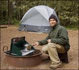 Camping at Mt. Madonna