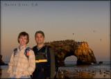 Natural Bridges State Beach in Santa Cruz, CA