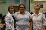 1st Women's Team Shirley Morgan, Anna Busler, Cindy Doty
