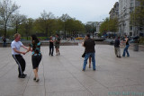 Dancing in Freedom Plaza
