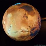 movie on a sphere - Mars
