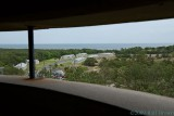 View out the observation tower