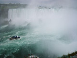 Into the mist of Horseshoe Falls