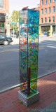 What to do with an old parking meter pole -- make art!