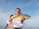 Lake Charles Redfish Trip, Louisiana June, 2009