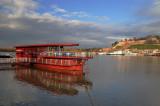 The Sava river and Kalemegdan