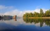 The Drina river, Serbia