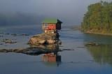The Drina river