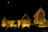 Rothley Court at night
