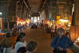 Market Stalls Inside the Temple