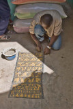Painting Mud Cloth