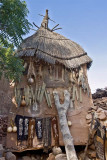 Decorated Dogon Granary