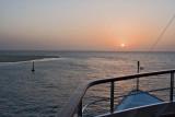 Approaching Sangomar Point at Dawn