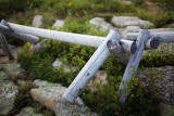 Fence on Top of Cadillac Mountain #2
