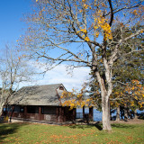 The Boathouse in Autumn #1