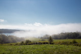 Fog Rolling In Over Morgan Bay